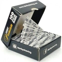 Derby Premium Single Edge Razor Blades For Barber Shavette Razors